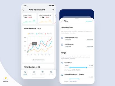 Analytics Dashboard App
