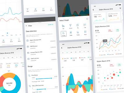 Analytics Dashboard App V2 Ui Kit android app ios app app 2d 3d dashboard design dashboard ui analytics analytics chart admin dashboard typography minimal