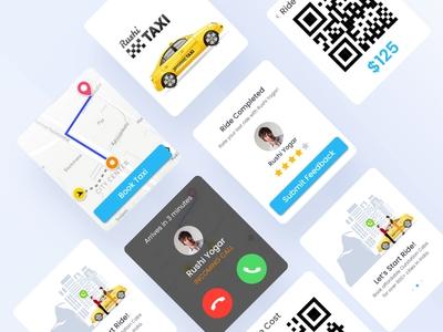 Taxi_Smartwatch App Ui Kit