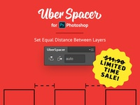 UberSpacer Extension for Photoshop