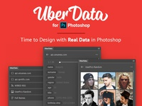 UberData Extension for Photoshop