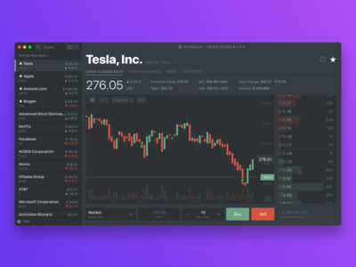Simple Stock App