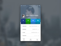 Daily UI - #006 - Profile