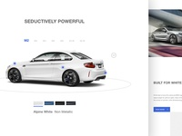 BMW M Power - Web Design #1