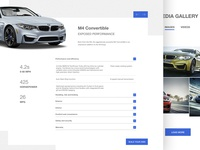 BMW M Power - Web Design #2
