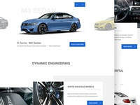 BMW M Power - Web Design #3