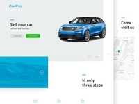 CarPro - Web Design #1