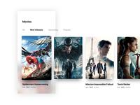 Movies - Mobile App Design