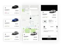 Car Sharing - Mobile App Design