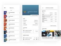 NFL - Mobile App Design