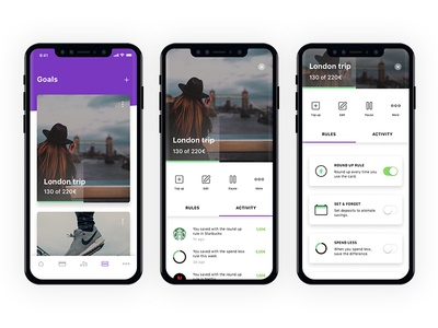Goals - Mobile App Design