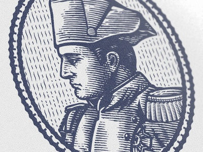Bonaparte Wip honor medal armor war soldier tradition napoleon bonaparte illustration portrait emperor