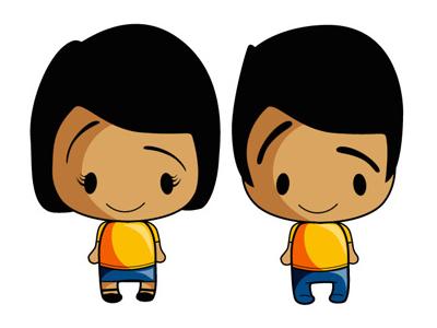 BB Characters illustrations