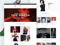 Arena E-commerce Web Design