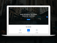 Arena - Business PSD Template