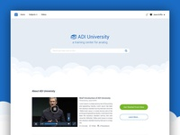 ADI University web design