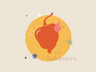 the habanero garden spicy fire habanero pepper