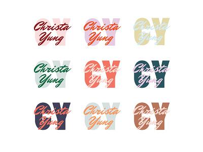 Christa Yung colorful rebrand