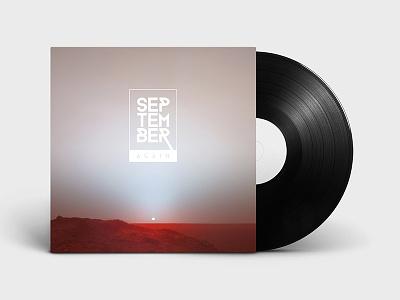 Cover art idea - Mars sunrise identity branding music cover album