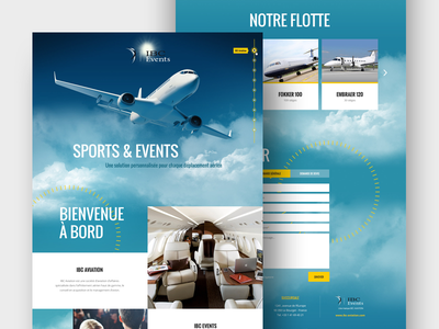 Ibc Events Homepage preview webdesign art direction ux ui