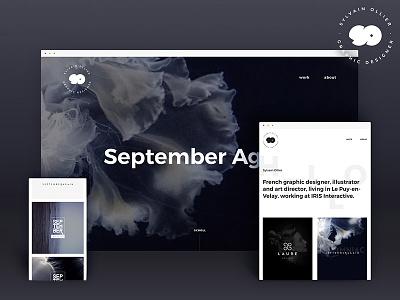 New Website sylvain-ollier portfolio webdesign
