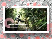 Bourges Berry Tourisme web design