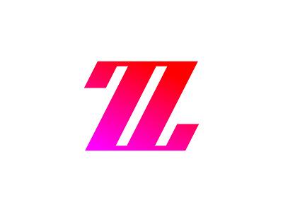 Z type flat vector typography logotype identity branding brand symbol icon logo design logo