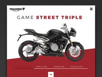 Daily UI Challenge #019 triumph bike ux interface ui mobile leaderboard daily challenge