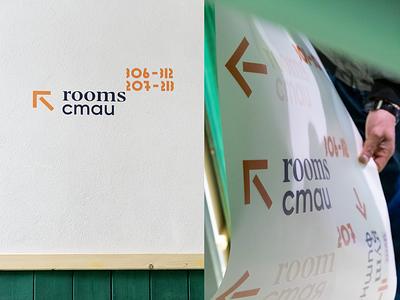 cota1110 signage numbers bulgaria fourplus ivaylonedkov print branding identity branding typography arrow interior identity wayfinding signage