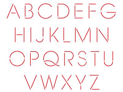 Stencil Display - Light ivaylo nedkov font type typography design vector bulgaria