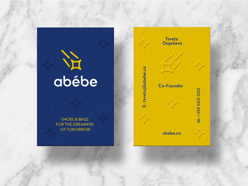 Abebe   business cards