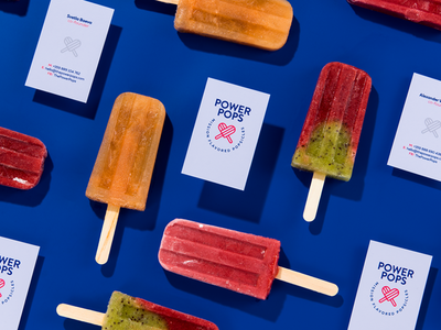 POWER POPS - Business Cards