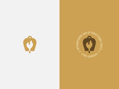 Etar - International Fair branding fourplus ivaylonedkov bulgaria etar museum fair flame bell icon logo