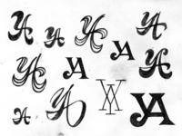 YA monogram