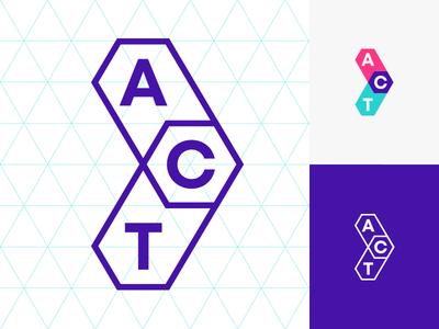 ACT Labs fourplus bulgaria sofia ivaylonedkov brand and identity branding symbol icon hackaton social direction move arrow logo act