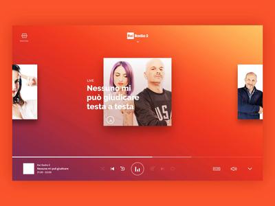 RaiPlay Radio - Player