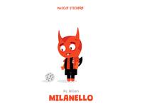 Mascot Stickers - Milanello