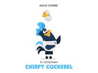 Mascot stickers - Chirpy Cockerel