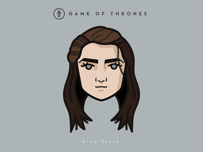 Faces Collection Vol. 02 - Game of Thrones - Aria Stark