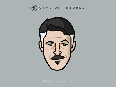 Faces Collection Vol. 02 - Game of Thrones - Lord Baelish vector tv series logo lannister king lord baelish illustration icon game of thrones 3d 2d