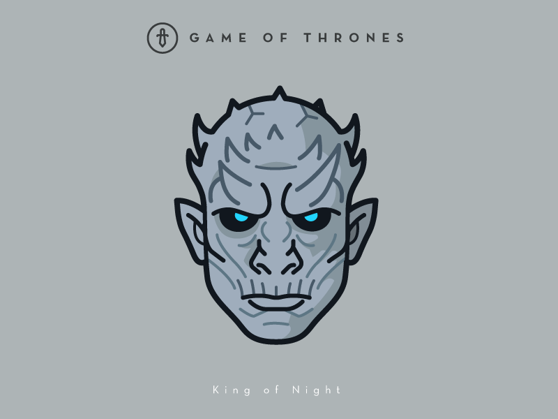 Game of Thrones (GOT) example #492: Faces Collection Vol. 02 - Game of Thrones - King of Night