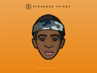 Faces Collection Vol. 03 - Stranger Things - Lucas Sinclair