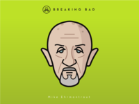 Faces Collection Vol. 04 - Breaking Bad - Mike Ehrmantraut
