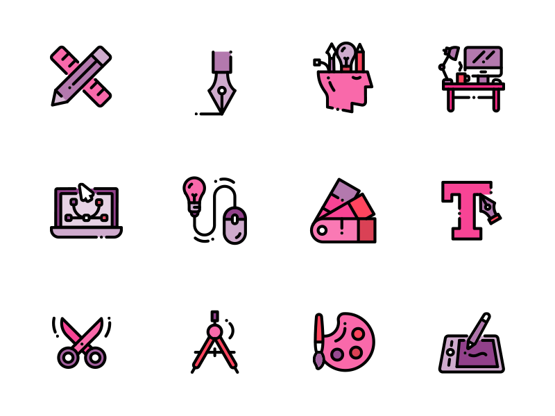 Icon Graphics Design design graphics icon vector icon pack icon kit free icons freebies