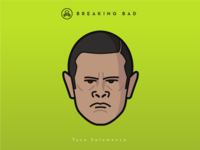 Faces Collection Vol. 04 - Breaking Bad - Tuco Salamanca