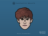 Faces Collection Vol. 05 - Fantastic Beasts - Newt Scamander