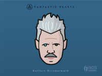 Faces Collection Vol. 05 - Fantastic Beasts - G. Grindelwald