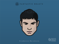 Faces Collection Vol. 05 - Fantastic Beasts - Credence Barebone