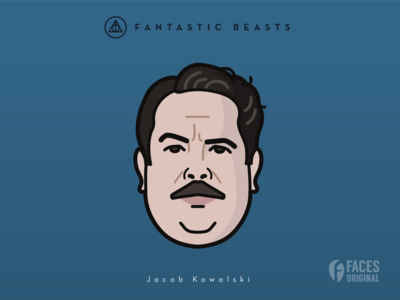 Faces Collection Vol. 05 - Fantastic Beasts - Jacob Kowalski