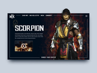 Mortal Kombat Scorpion Demo Page